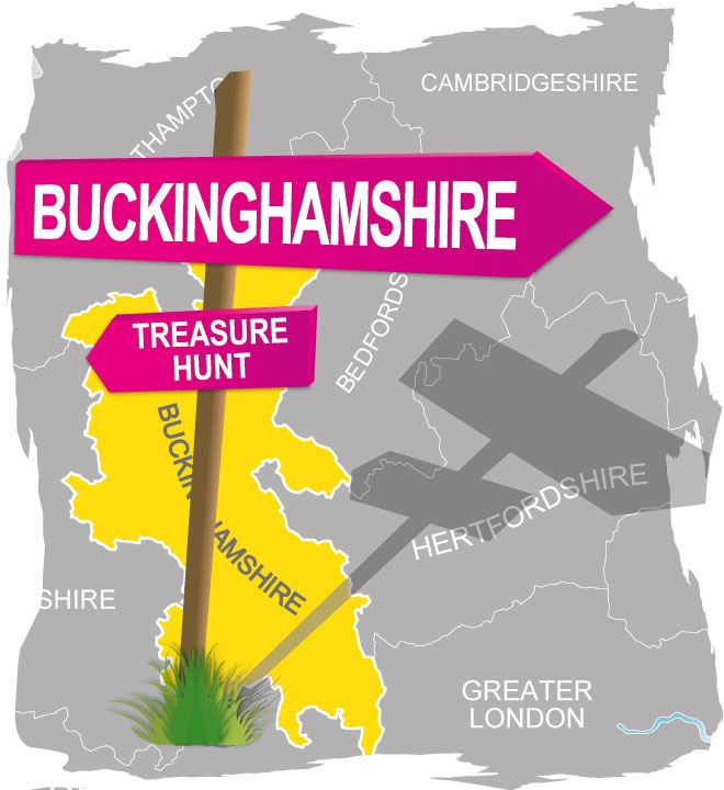 treasure hunt buckinghamshire