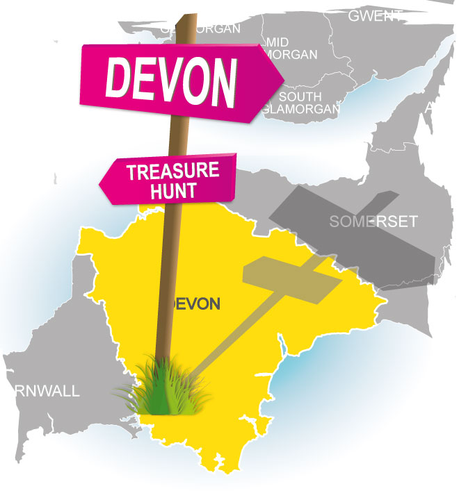 treasure hunt devon