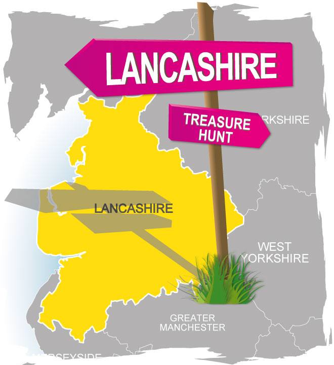 treasure hunt Lancashire