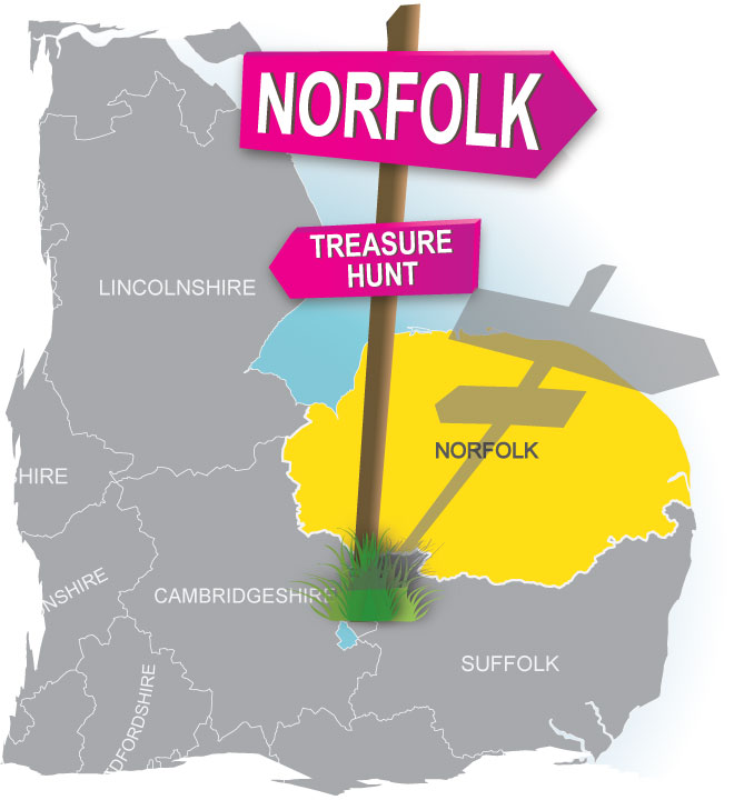 treasure hunt Norfolk