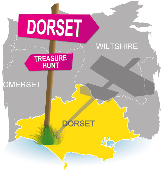 treasure hunt Dorset