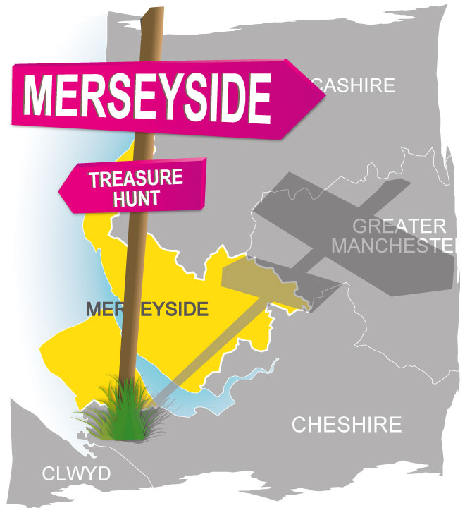 treasure hunt merseyside