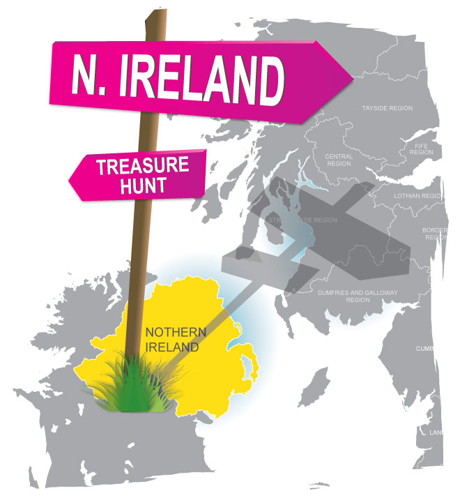 treasure hunt northern ireland