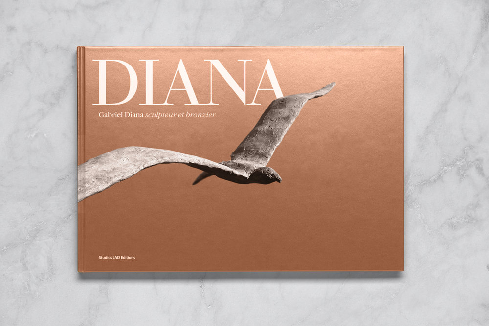 GABRIEL DIANA / Monography books design