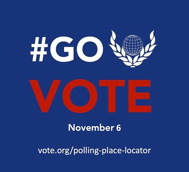 Too many people have fought and suffered so that all citizens of all colors, races, ethnicities, genders and abilities can #vote to think that not voting somehow will send a message. Your vote matters. Every vote matters. GO VOTE 🗳