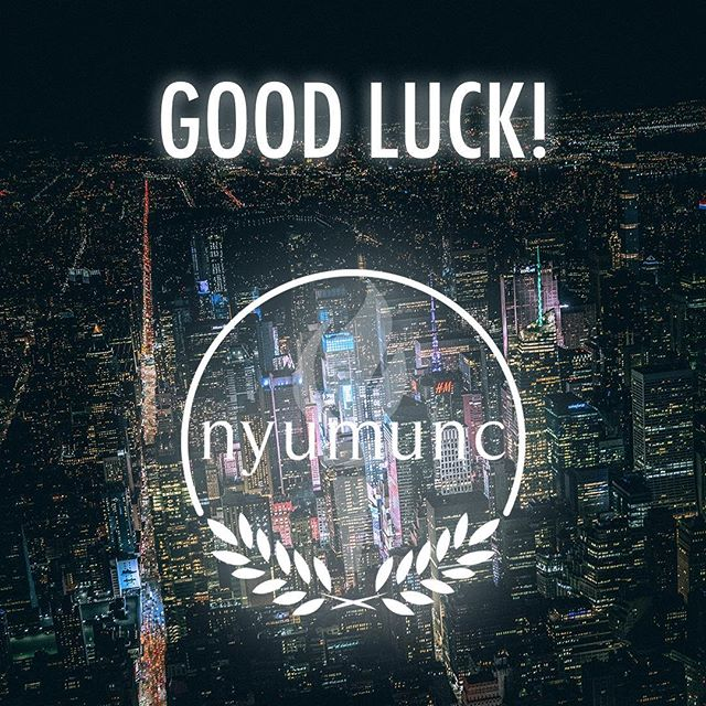 Today is the day! We wish our sister college conference the best of luck. May it be a memorable and productive weekend! NYUMUNC X will be the best conference in our history!