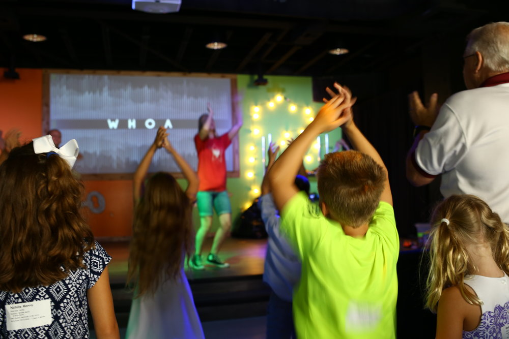 ELEMENTARY (K THROUGH 5TH GRADE) - The Pavilion is a fun place to be. It is here that we equip our children with the tools they will need in life. With interactive bible stories, energetic worship, and great games your child will learn about God's truth.