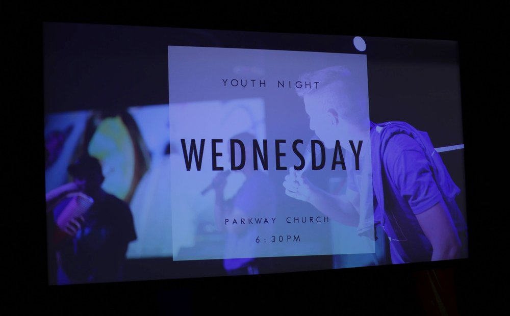 Parkway Youth - Parkway Youth exists to reach 6–12th grade students far from God and teach them how to follow Jesus step by step. If you love Jesus, middle and high school students, and crazy services, Youth is a great place for you to serve. Youth Night happens every Wednesday from 6–9pm, and has a variety of different volunteer roles.