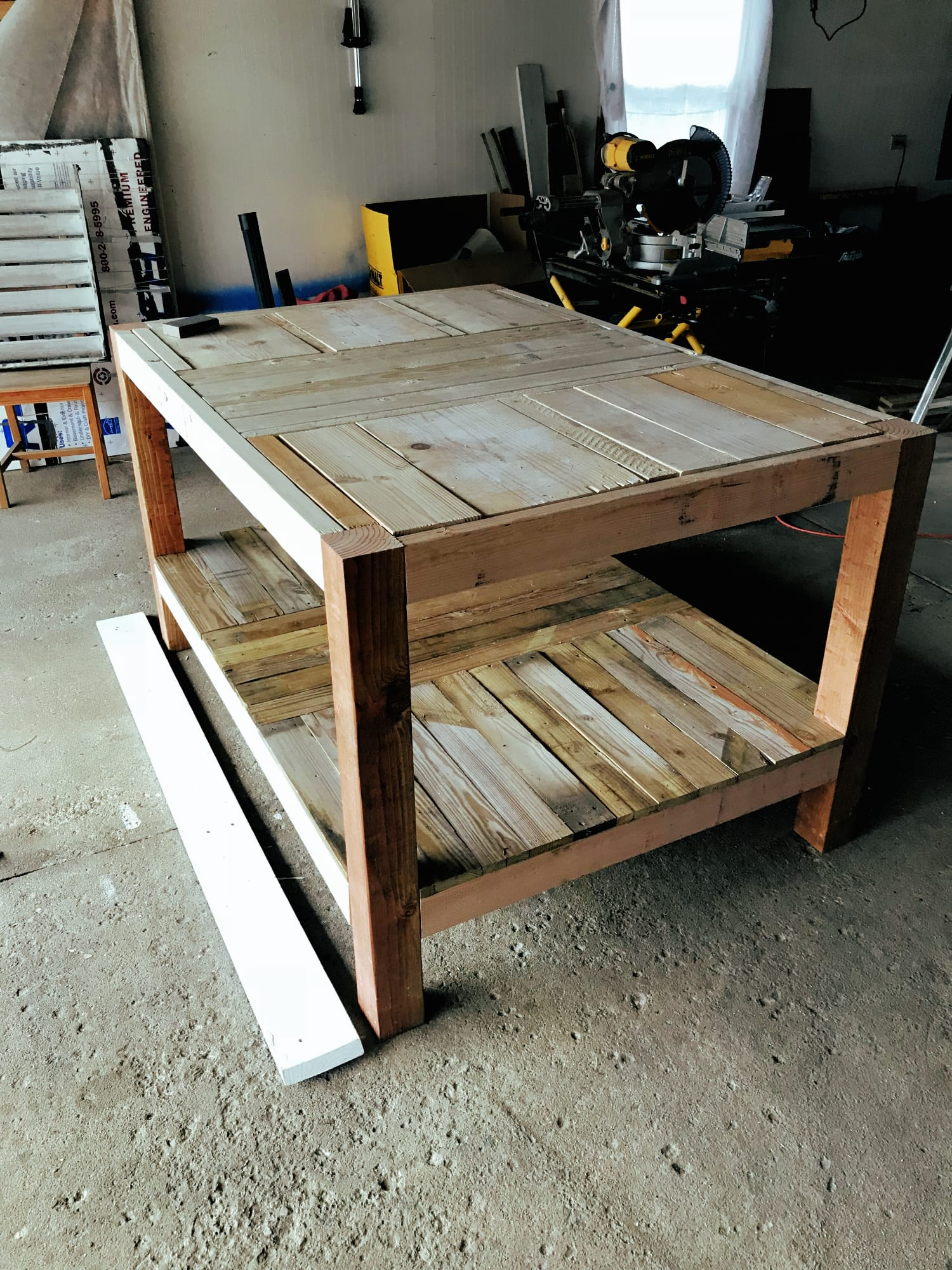 Amazing Building My First Workbench Samantha Ebreo Machost Co Dining Chair Design Ideas Machostcouk