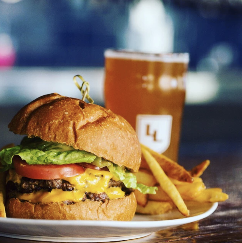 "Loyal Legion  - A famous Oregon beer hall and their equally famous ""smash"" burger."
