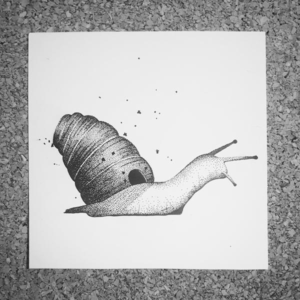 Inktober-Snail-Hive