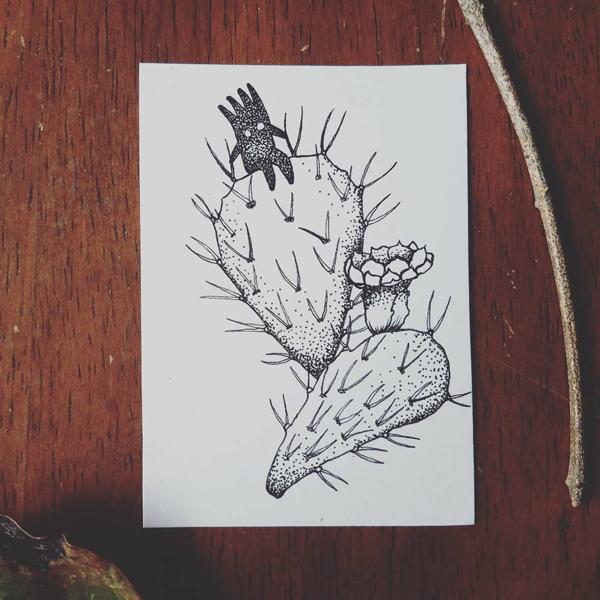 Inktober-Cactus