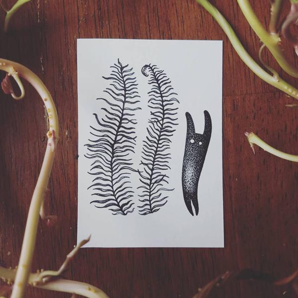Inktober-Fern