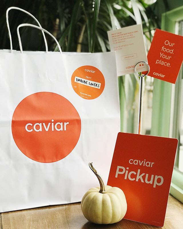 Too cozy to leave your couch? Not a problem.  Find us on @trycaviar