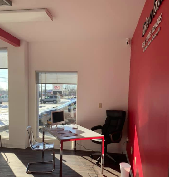 The sun is shining on Take A Look Real Estate Broker's new space!