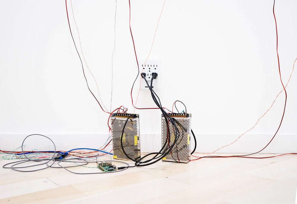 Alexandria Mento, untitled , Installation view