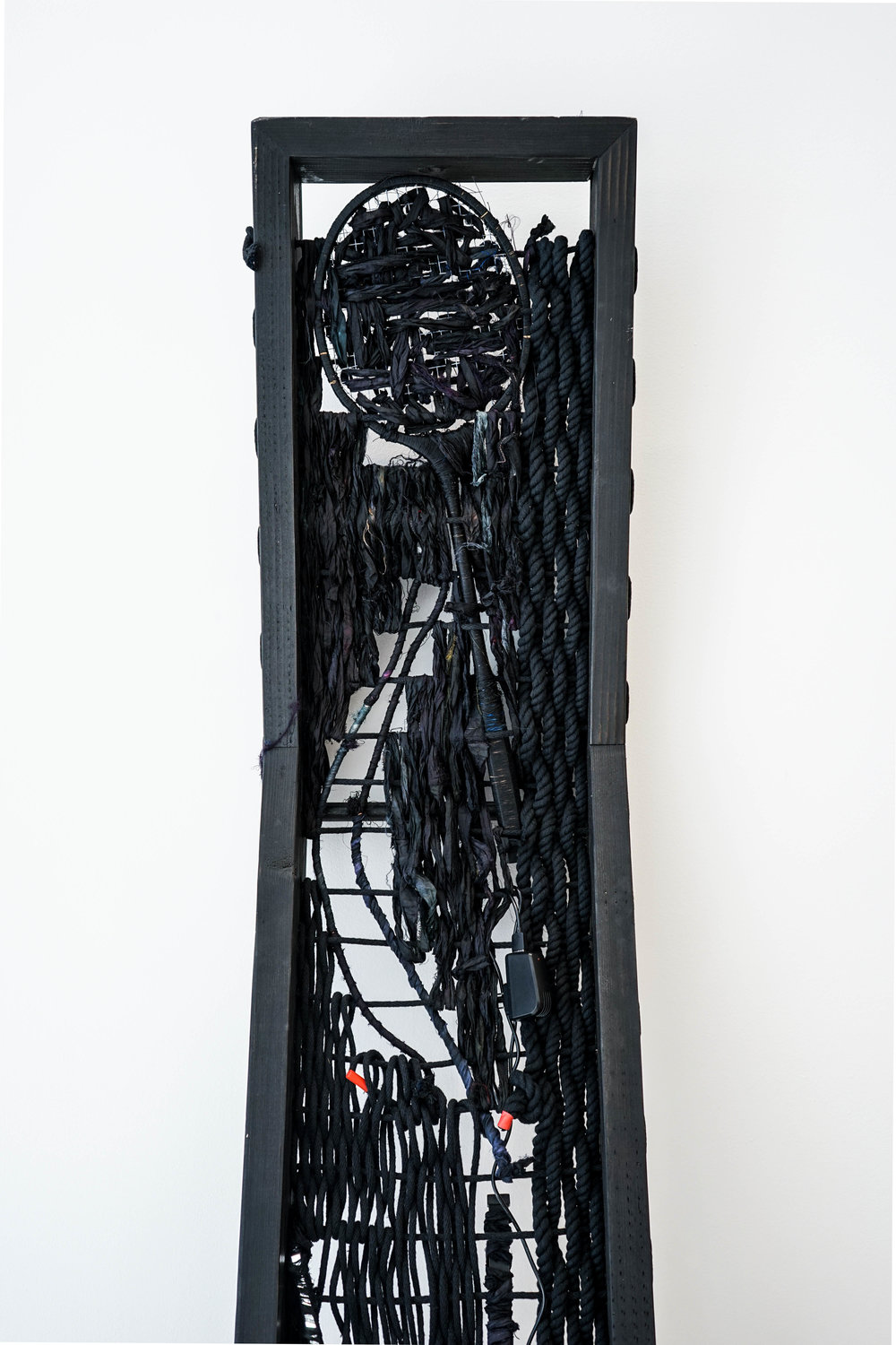 Kenturah Davis,  Loom III,  Installation view