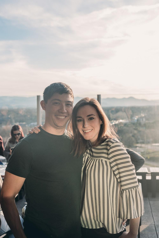 Engagement Photo of Couple