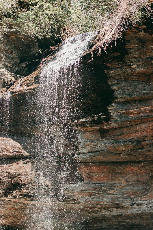 waterfall landscape photo