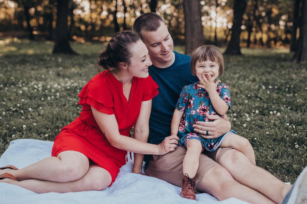 a family full of love