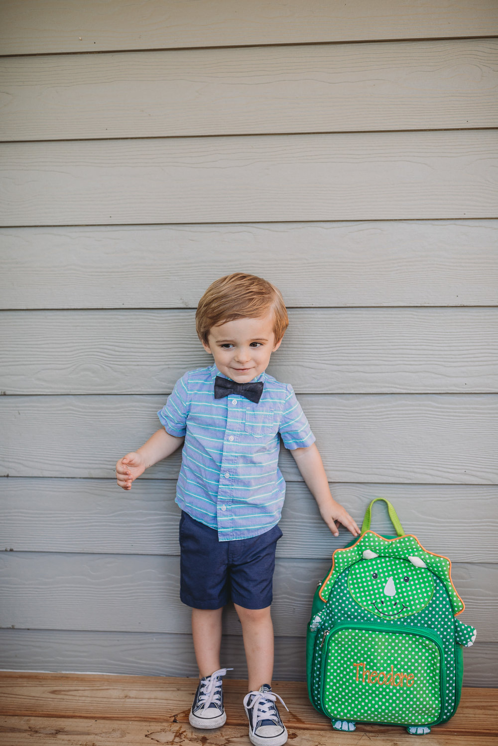 toddler standing