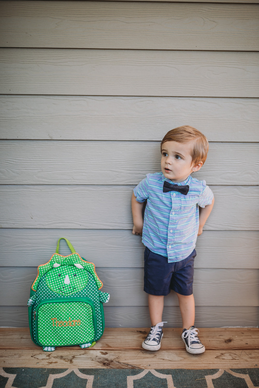 toddler back to school photo
