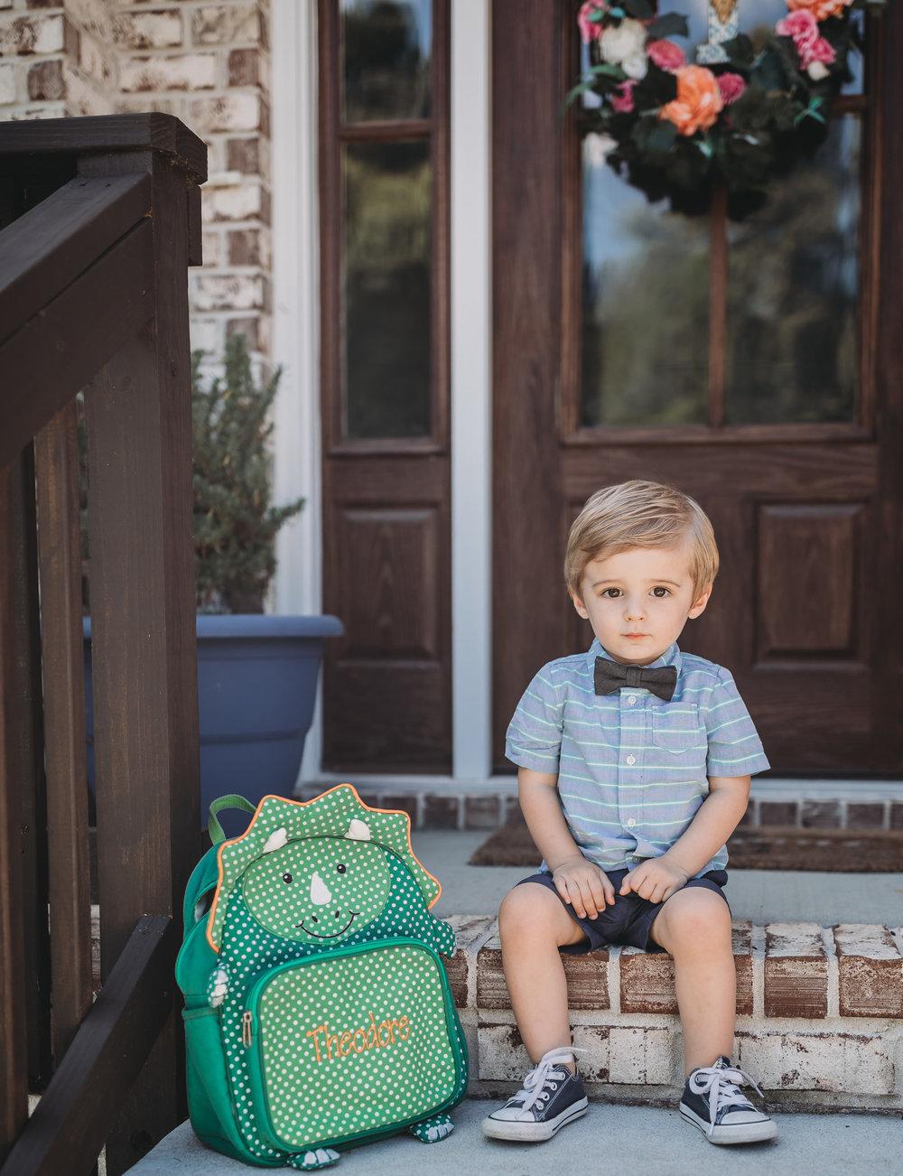 toddler sitting in clarksville