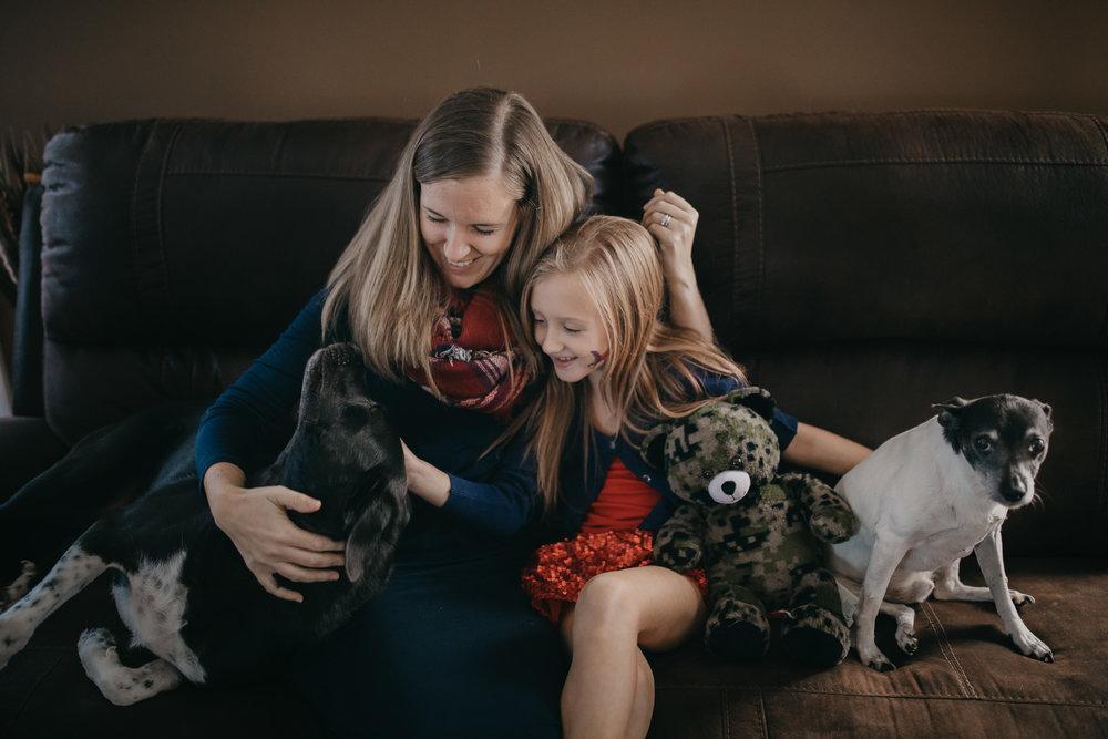 lifestyle family photo session