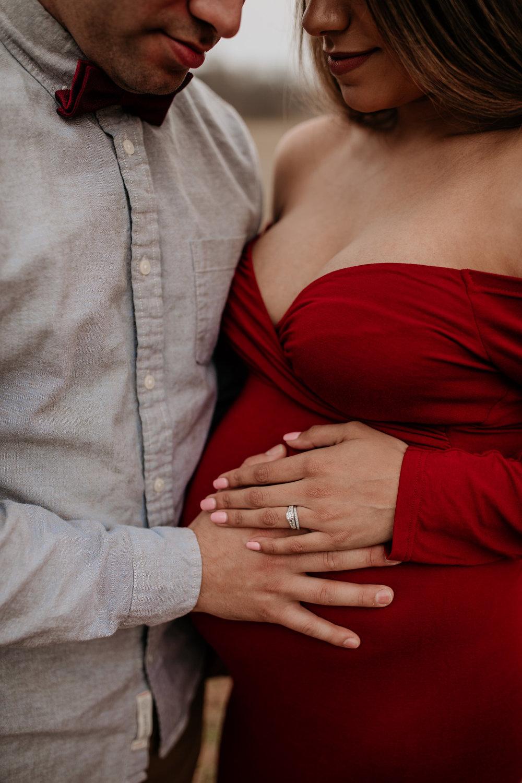 maternity pose