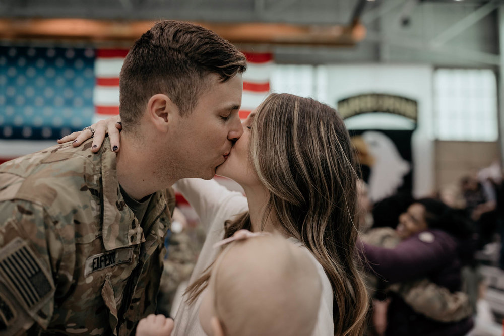First Kiss during Homecoming Ceremony