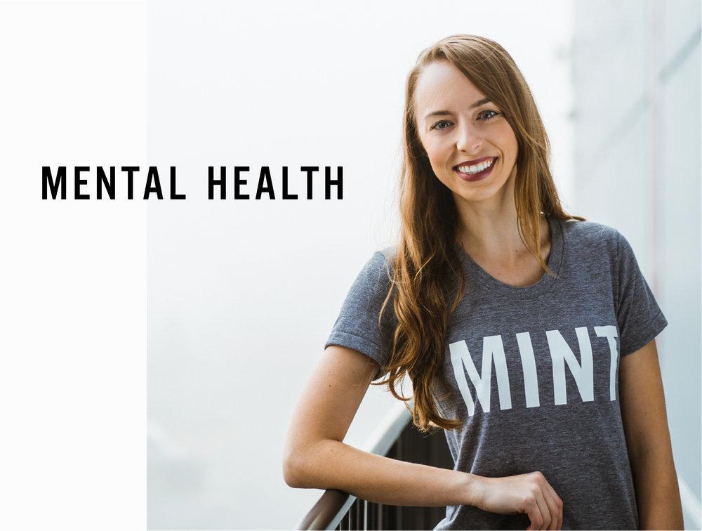 Aleisha Ross, Mental Health at Mint Club Athletics