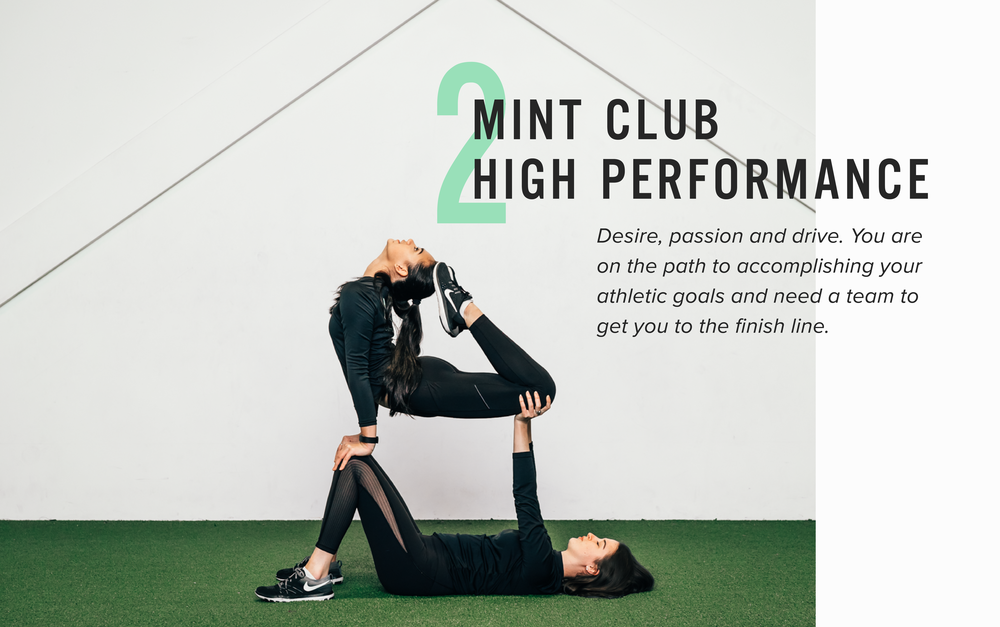 See the package options offered at Mint Club Athletics