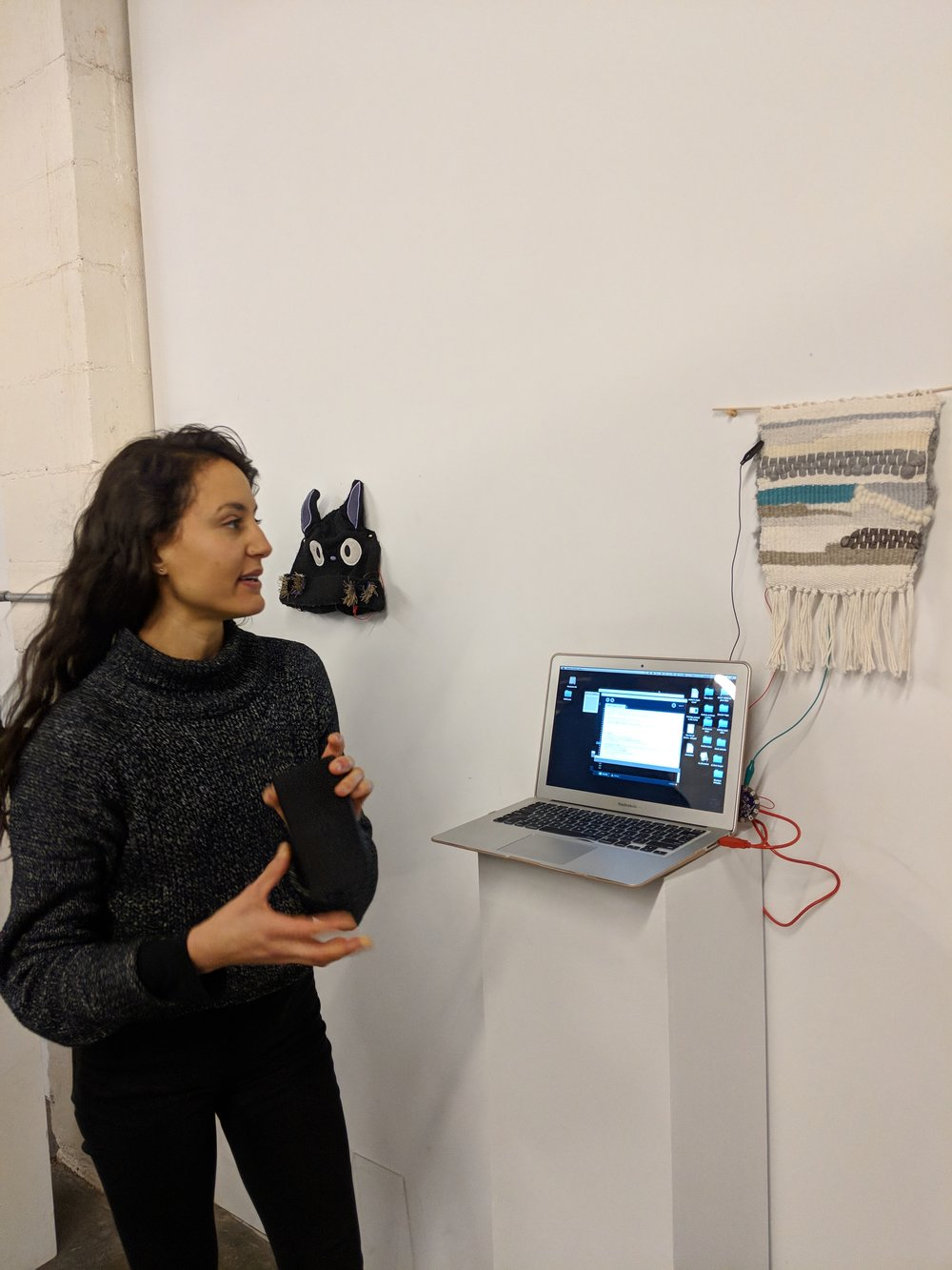 "Gabrielle Benabdallah: ""The Attention Tapestry: A Haptic Writing Device""  text 