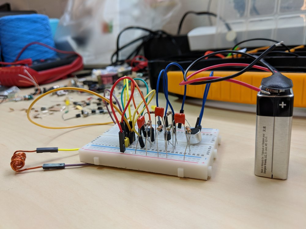 First breadboard version