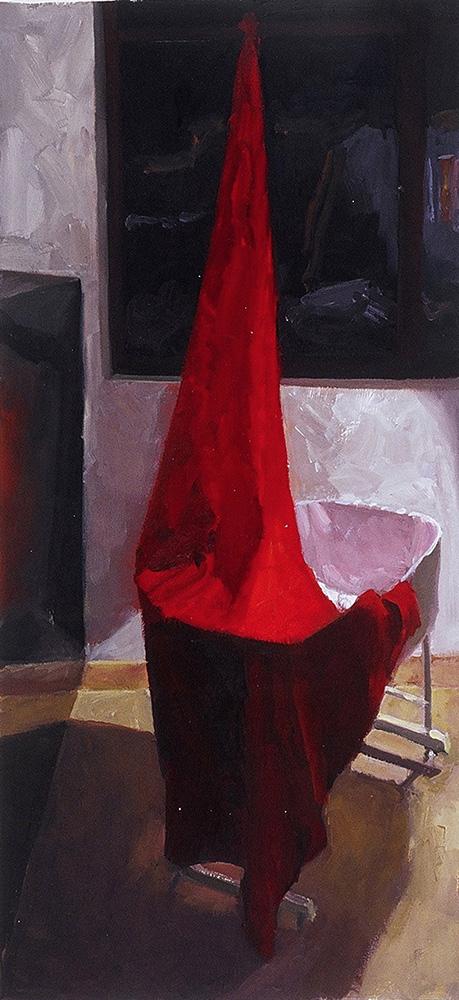 Red Drape