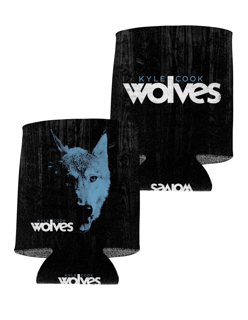 Wolves Koozie