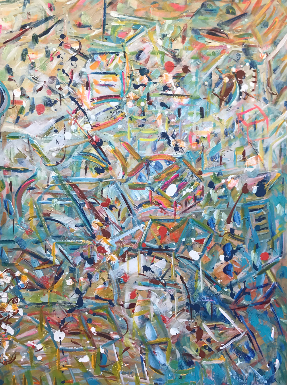 Kelly Fischer, [St Bernard Pass VII], 2017, 72inch x 48inch, Acrylic on Canvas.jpg