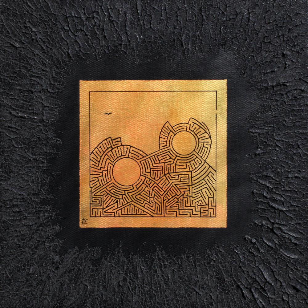 Miniature i-302, 2018, 30cm x 30cm, Acrylic and Posca on Canvas.jpg