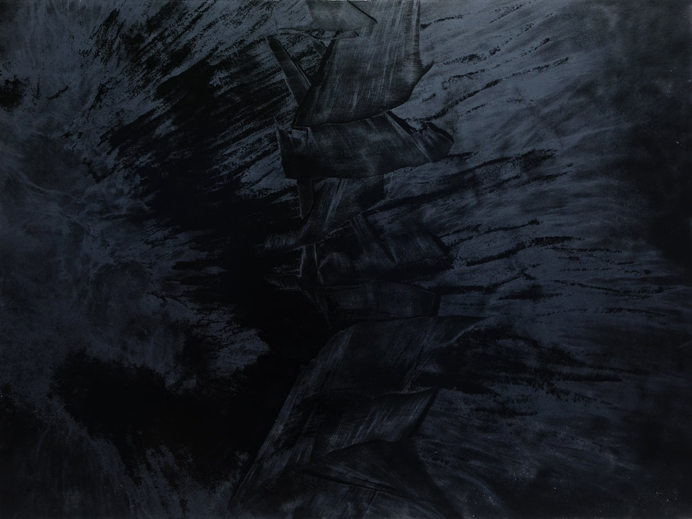 Black Void No. 16, 2017, 259cm x 194cm 200F, Oil on Canvas.jpg