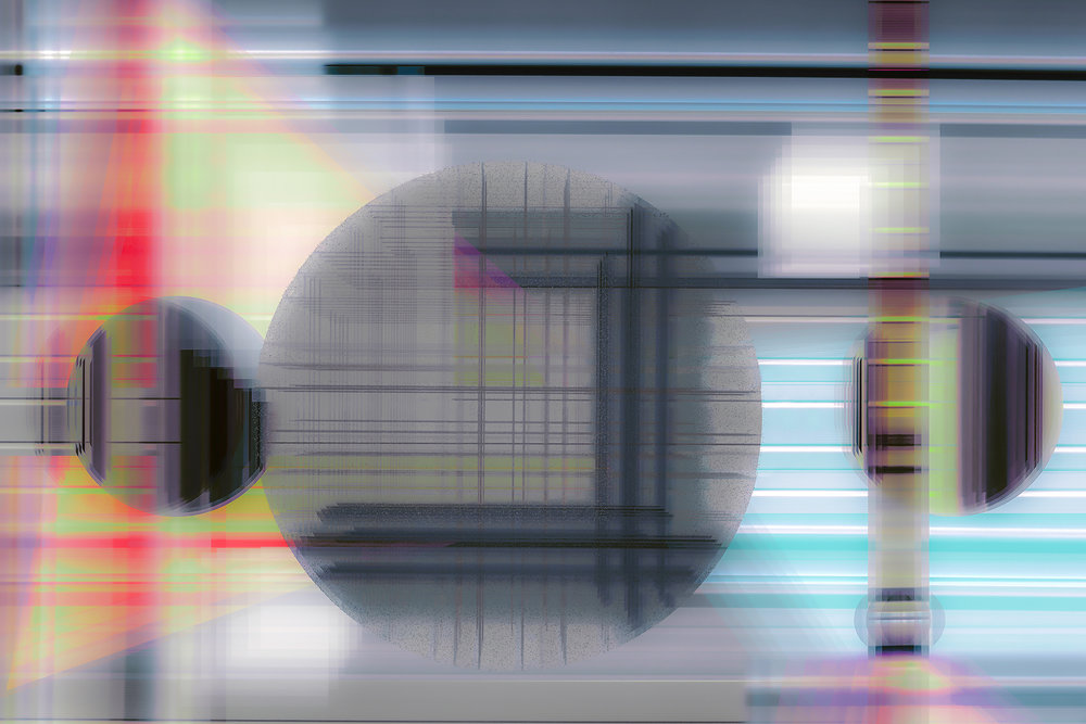 Heptapod B, 2017, 42 x 28 inches, Lens Based Digital Painting, Editions of 3.jpg
