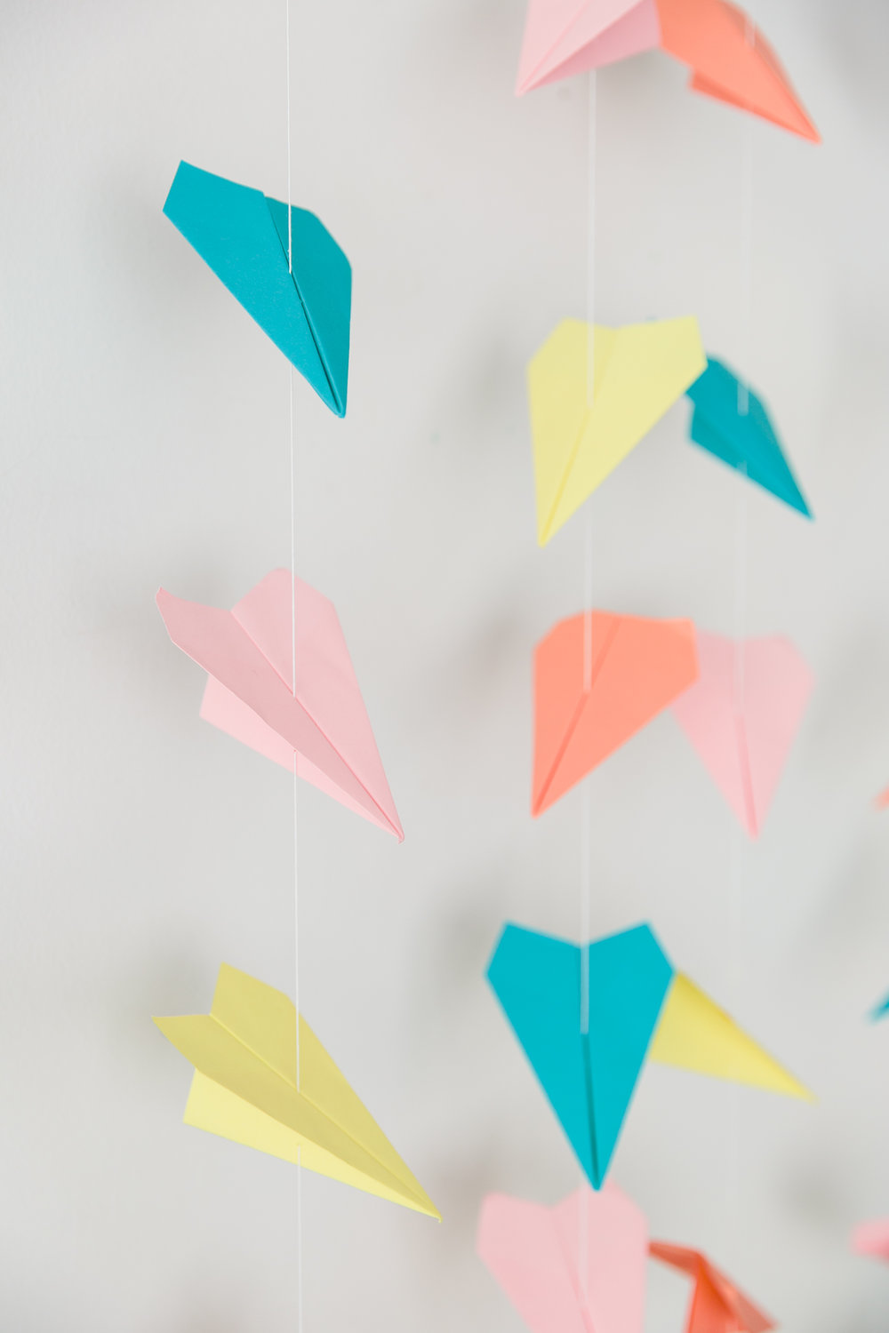 Oui Party - Back To School - Paper Plane Backdrop