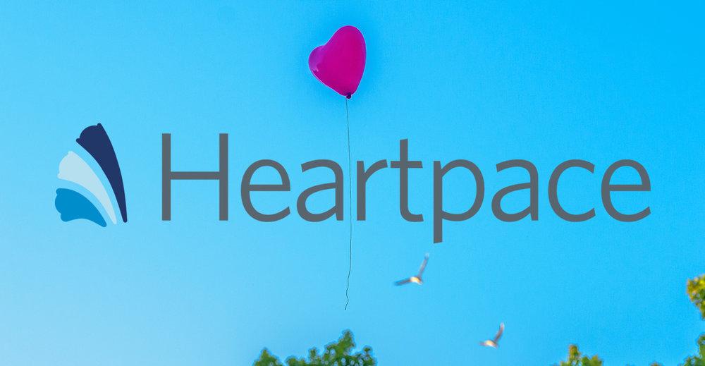 Heartpace hjärta bultar för Learnster.