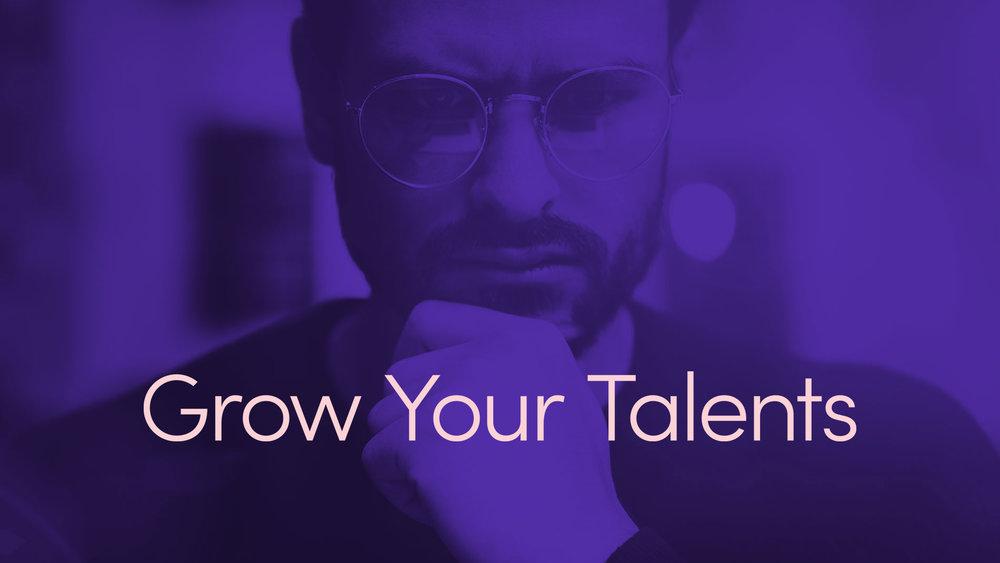 Låt dina talanger växa! - Utvecklingen går i ett rasande tempo vilket ställer helt nya krav på det livslånga lärandet och på kontinuerlig kompetensutveckling. För att förbli relevant på arbetsmarknaden måste både organisationer och individer idag klara av att ständigt växa sina talanger, både inom befintliga- och nya områden.Vissa människor hävdar att talang är något vi föds med. Vi håller inte med.