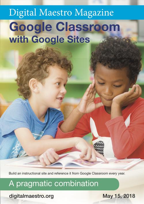 Google classroom and google sites