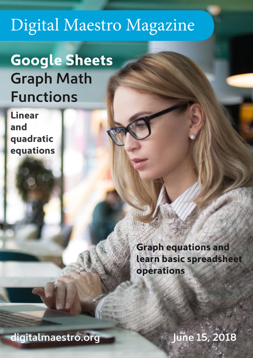 Graph linear equations with Google Sheets - Use the chart tool to graph linear and quadratic equations. Learn basic spreadsheet and line graph tools.Download a free sample