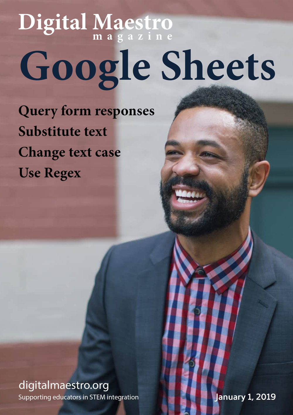 Google Sheets - Google Form Response data cleaningThis is the second part of my five-part series. The first part, released on December 15, 2018, covered the collection of data with Google Forms. The form did more than simply collect information. It verified and validated the information provided by presenters, participants, and vendors.In this issue, we will look at the collected information. This information needs to be reviewed before it appears in the presentation schedule. This corrected information is sent to the presenters for verification.Download a free sample