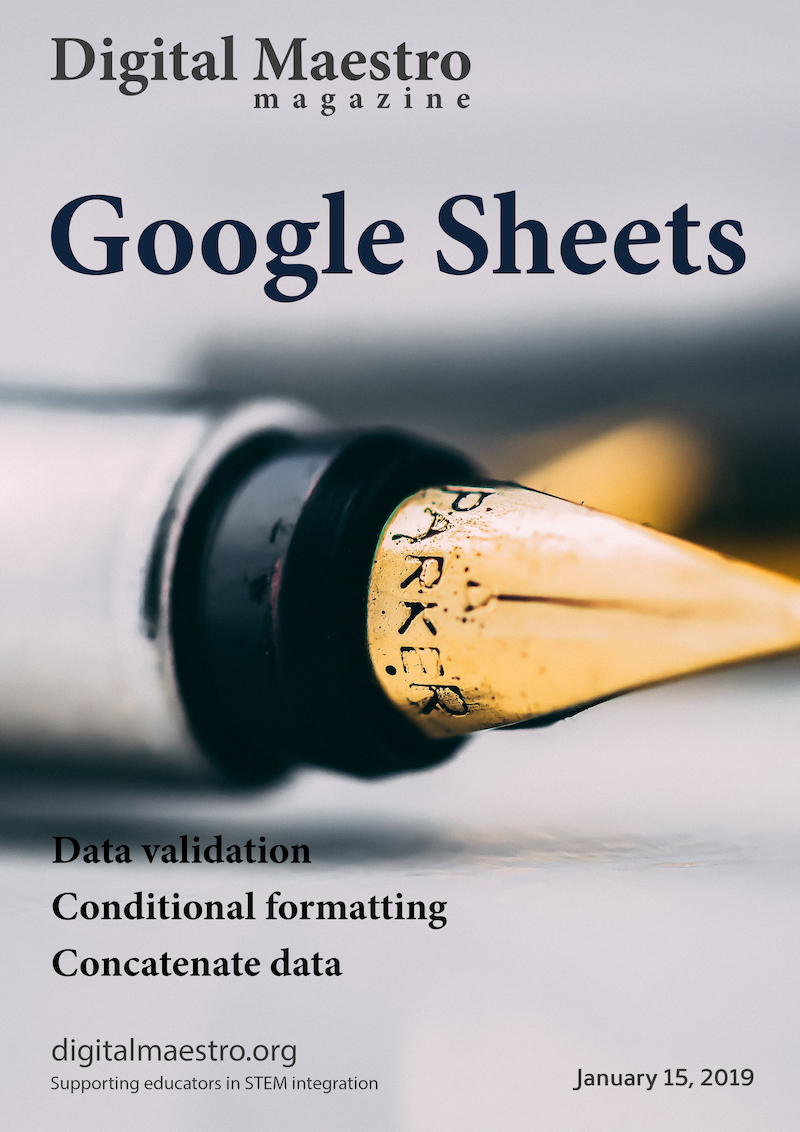 Google Sheets - Use Google Sheets to develop a scheduling application. This is the third issue in a five-part series. In this issue, I cover the use of data validation and conditional formatting. We use data validation to select presentations in our scheduling chart. We don't use it to validate information as much as we use it to select presentations.