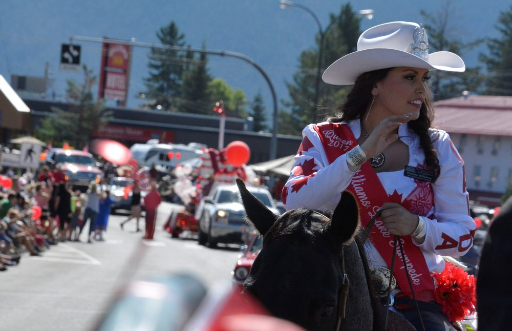williams lake stampede royalty -