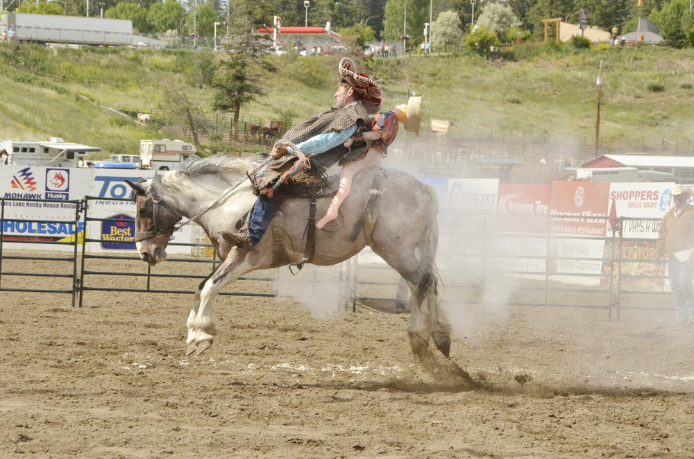RANCH BRONC RIDING -