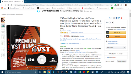 Beware of Cheap Audio Plugin Scams on Amazon com